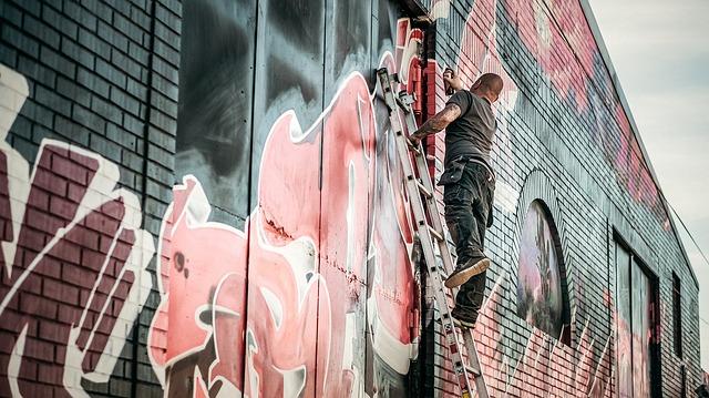 picture graffiti artist justify creativity