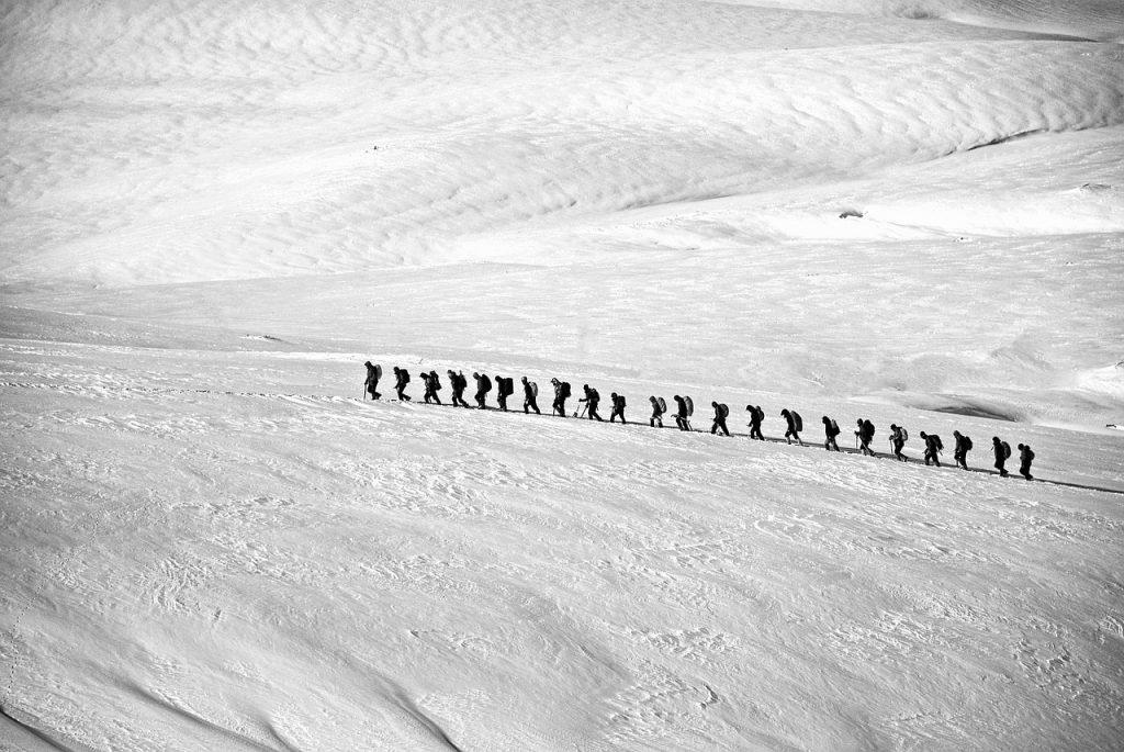 mountain trek heros journey