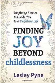 Book cover Finding Joy Beyond Childlessness